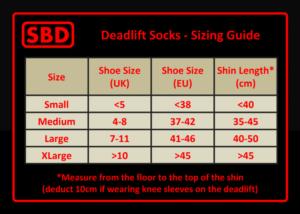 SBD Deadlift Socks