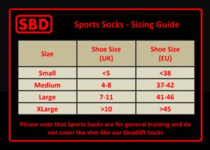 SBD Sports Socks
